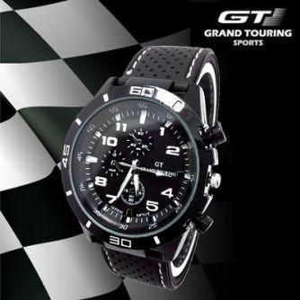 adc24a58c Pánske hodinky majú veľmi kvalitné prevedenie: pevný silikónový remienok,  telo hodiniek je kovové. O chod hodiniek sa stará kvalitný a presný  strojček ...